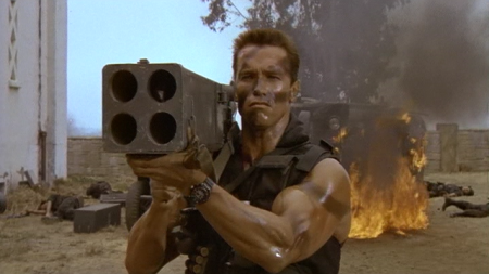 No We Don't Have Man Crush On Arnold... Just Rocket Launchers