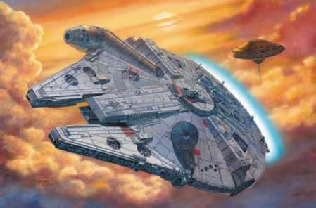 I once lost an intergalactic space ship in a poker game to Han...It's okay your not alone.