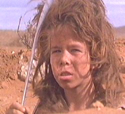 This kid saves australia from a bunch of gay dudes driving dune buggies...