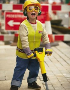 Kid Construction Worker