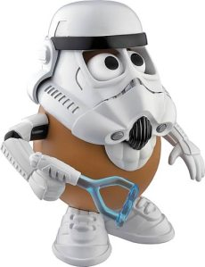 Stormtrooper Potato Head