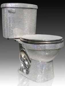 toilet, diamonds, shit, shitter, awesomeness