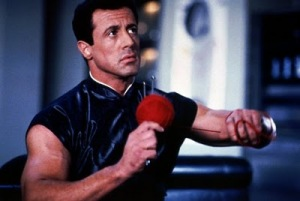 John Spartan, Knitting, Demolition Man, Sly Stallone