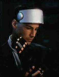 Keanu Reeves from Johnny Mnemonic