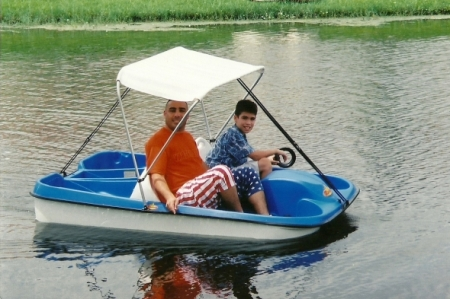 Paddle Boat, American Pants