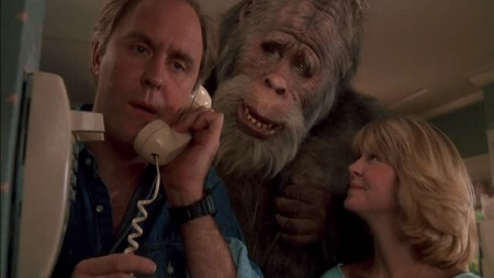 Harry and the Hendersons, John Lithgow, Harry, Bigfoot, humor, comedy