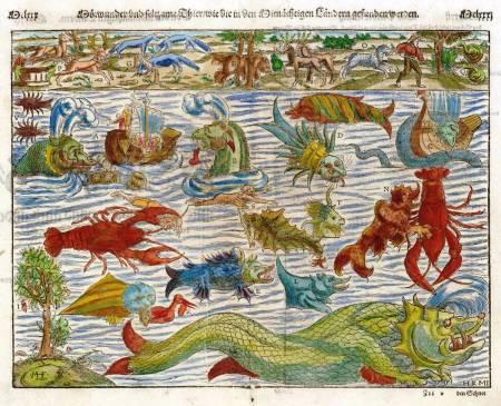 Munster, Sea Monsters Map