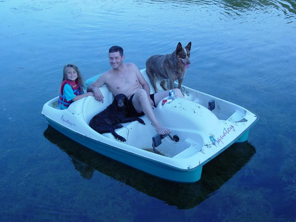 How do i modify a paddle boat the hull truth boating for Fishing paddle boat