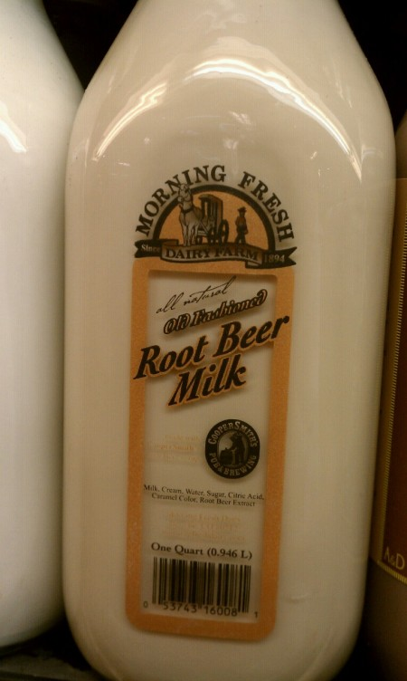 Root Beer Milk