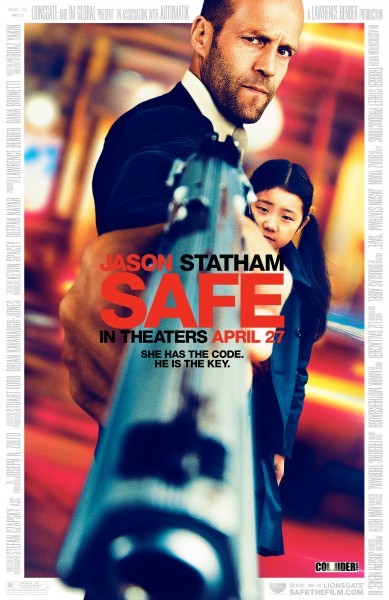 Safe, Jason Statham, Guns, Movie, Blog, Humor