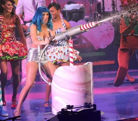 Katy Perry, Food Poisoning, Cannon