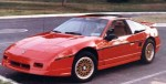 The Fiero, trying not to explode from 1984-1989.